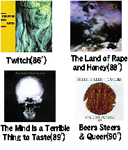 Twitch/Land of Rape  and Honey/Mind Is a Terrible  Thing to Taste/Beers Steers  & Queer ミニストリー/レヴォルティング・コックス